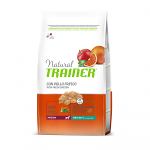 Natural Trainer Medium Senior con Pollo Fresco 3 kg