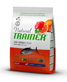 Natural Trainer Adult  Medium con Tonno 3 kg