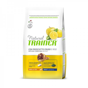 Natural Trainer Adult Small & Toy con Prosciutto 800 g