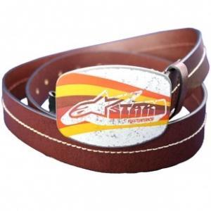 Cintura pelle Alpinestars Pro Vintage marrone scuro