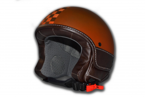Casco jet LS Slim Rust Ruggine
