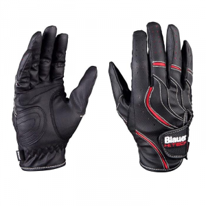 BLAUER SKIN Motorcycle Gloves - Black