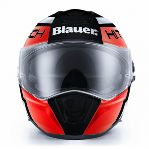 BLAUER FORCE ONE 800 Full Face Helmet - Black - Red and White