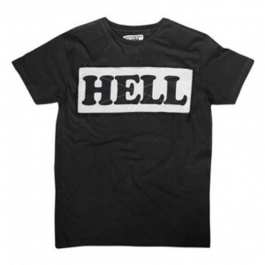 ANVIL MOTOCICLETTE Hell Man T-Shirt - Black