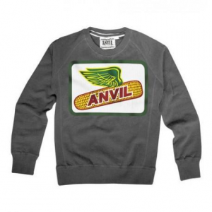 ANVIL MOTOCICLETTE Corn Man Sweatshirt - Grey