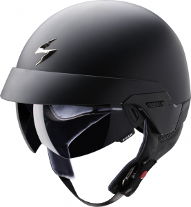 Casco jet Scorpion Exo 100 nero opaco