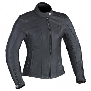 IXON CRYSTAL SLICK Woman Motorcycle Leather Jacket - Black