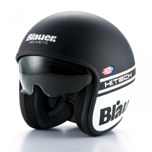 BLAUER PILOT 1.1 Jet Helmet - Matt Black