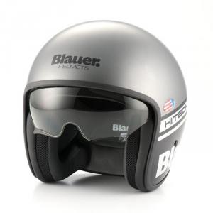 BLAUER PILOT 1.1 Jet Helmet - Matt Grey