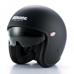 BLAUER PILOT 1.1 Jet Helmet - Dark Black
