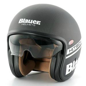 BLAUER PILOT 1.1 Jet Helmet - Carbon Black