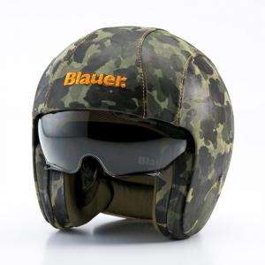 BLAUER PILOT 1.1 CAMOUFLAGE Jet Helmet - Camouflage