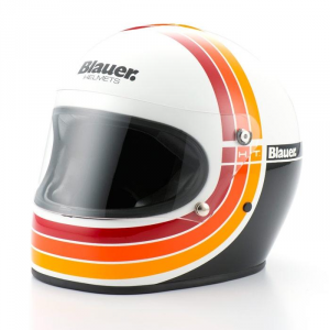 BLAUER 80S Full Face Helmet - White