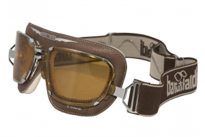 BARUFFALDI SUPERCOMPETITION CERVO Helmet Goggles - Brown Leather