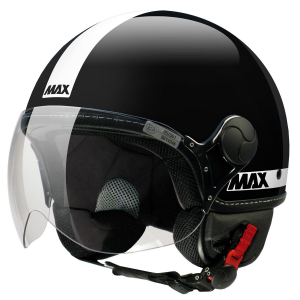 Casco jet Max Power Nero