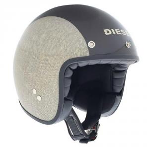 DIESEL OLD JACK MULTI HERRINGBONE Jet Helmet - Grey