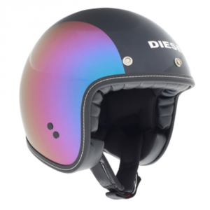 DIESEL OLD JACK MULTI Jet Helmet - Pearl Purple