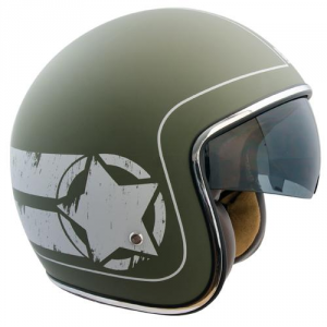 CGM 133L SAVANA Jet Helmet - Military Green