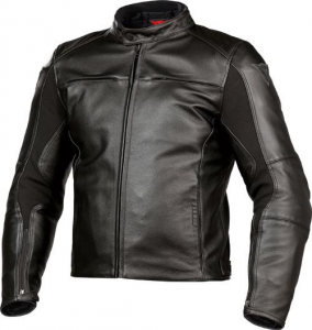 DAINESE RAZON Motorcycle Leather Jacket - Black