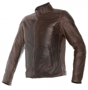 DAINESE MIKE Giubbotto Moto in Pelle - Marrone