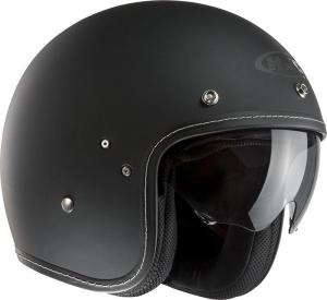 HJC FG 70S RUBBERTONE Jet Helmet - Matt Black