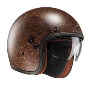 HJC FG 70S VINTAGE Jet Helmet - Matt Brown