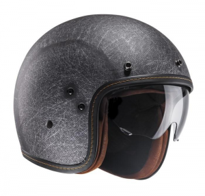 HJC FG 70S VINTAGE Jet Helmet - Matt Black