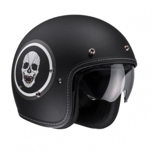 HJC FG 70S APOL MC5F Jet Helmet - Black and White