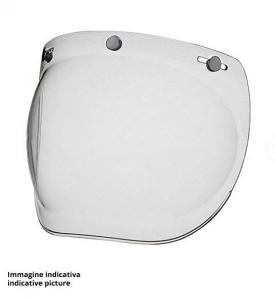 DMD RACER COVER Helmet Visor - Clear