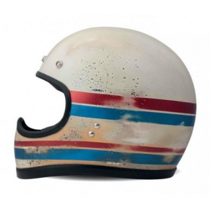 DMD RACER LINE HANDMADE Casco Integrale - Multicolore