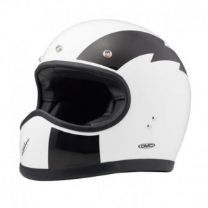 DMD RACER FLASH Full Face Helmet - White