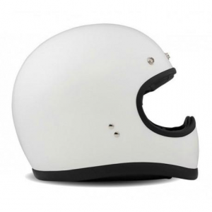 DMD RACER Full Face Helmet - White