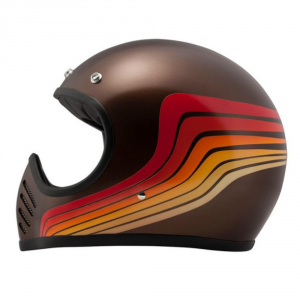 DMD SEVENTYFIVE WAVES Full Face Helmet - Multicolor