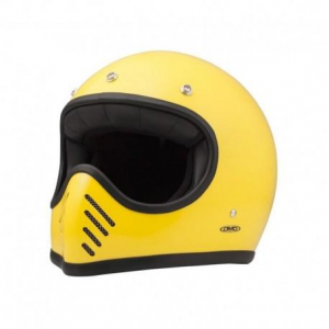 DMD SEVENTYFIVE Full Face Helmet - Yellow