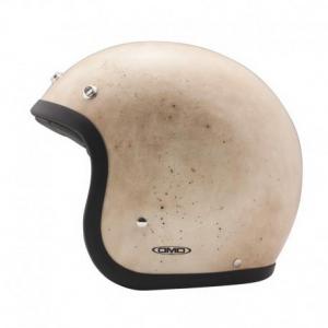 DMD VINTAGE OLD HANDMADE Jet Helmet - White
