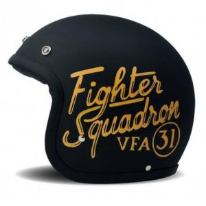 DMD VINTAGE FELIX Jet Helmet - Black