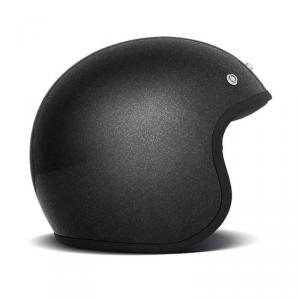 DMD VINTAGE GLITTER Jet Helmet - Black