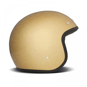 DMD VINTAGE GLITTER Jet Helmet - Gold