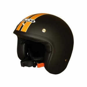 DMD VINTAGE HD Jet Helmet - Black