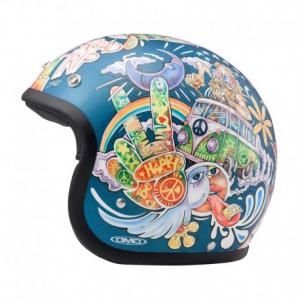 DMD VINTAGE ROAD TRIP Jet Helmet - Multicolor