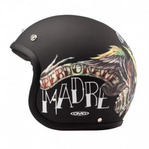 DMD VINTAGE VIDA LOCA Jet Helmet - Black