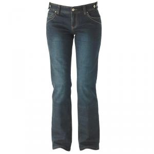 IXON WHITNEY Jeans Moto Donna - Blu Scuro