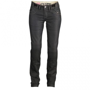 IXON ASHLEY LADY HP Jeans Moto Donna - Nero