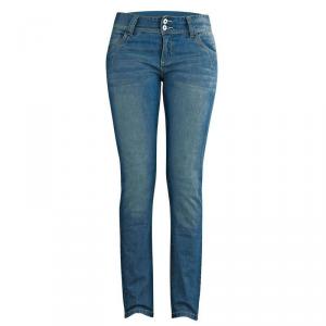 IXON SYDNEY Jeans Moto Donna - Blu Chiaro