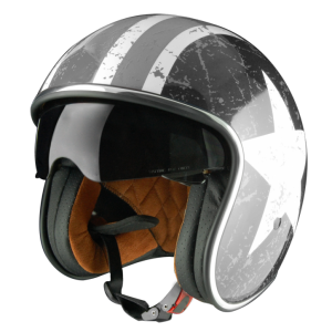 ORIGINE SPRINT REBEL STAR Casco Jet - Grigio opaco