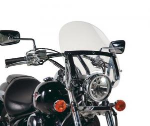 Parabrezza universale custom Kappa 23A basso e trasparente