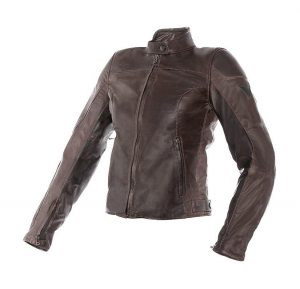 DAINESE MIKE Giubbotto Moto Donna in Pelle - Marrone