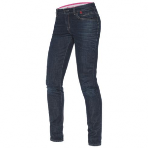 DAINESE BELLEVILLE Woman Motorcycle Jeans - Mid Blue