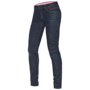 DAINESE BELLEVILLE Jeans Moto Donna - Blu Medio