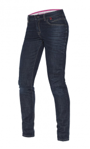 DAINESE BELLEVILLE Woman Motorcycle Jeans - Dark Blue